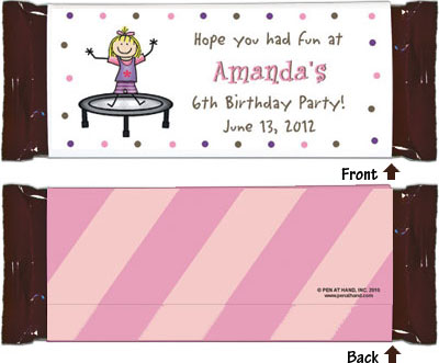 Personalized Candybar Wrappers